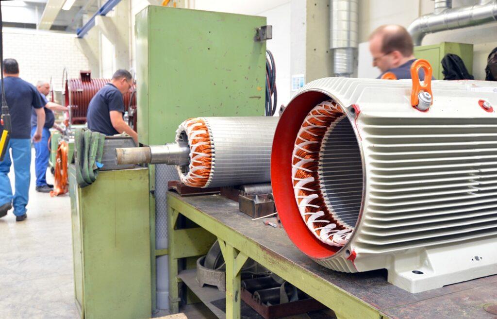 ring electric motor