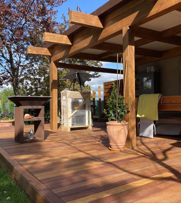 kvalitna drevena terasa
